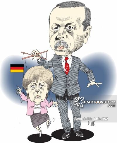 Erdogan-Merkel: Puppet Strings